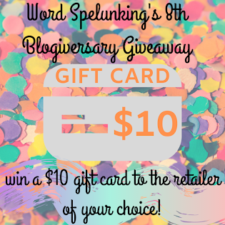 8th Blogiversary Giveaway