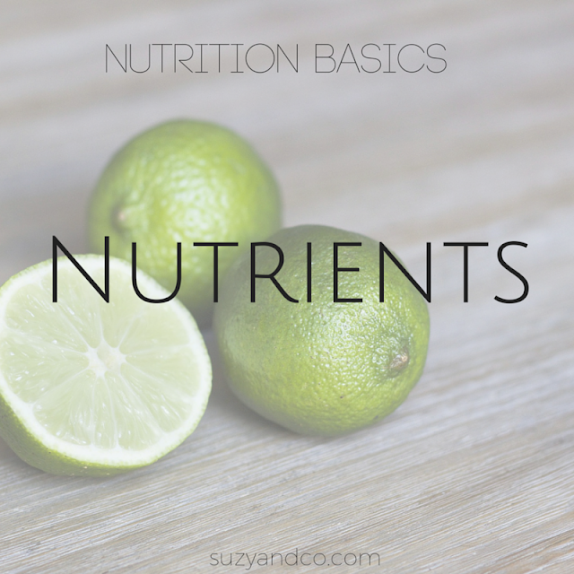 Nutrition basics  - simplifying nutrients