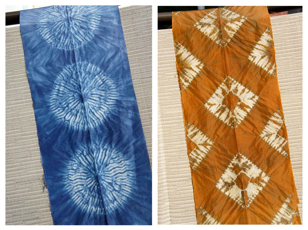 notjustnat creative blog: Shibori vs Eco Dyeing