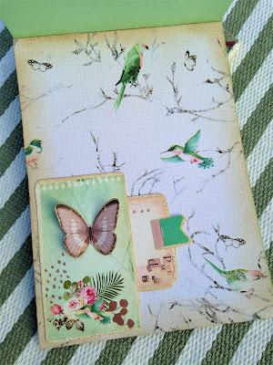 Sara Emily Barker http://sarascloset1.blogspot.com/ Prima Havana Shabby Chic Card #prima #havana #lavender #rosegoldwax #timholtz #3D embossing #botanicaltexturefade 7