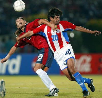 Chile y Paraguay en Clasificatorias a Alemania 2006, 18 de noviembre de 2003