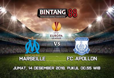 Prediksi Olympique Marseille VS FC Apollon 14 Desember 2018