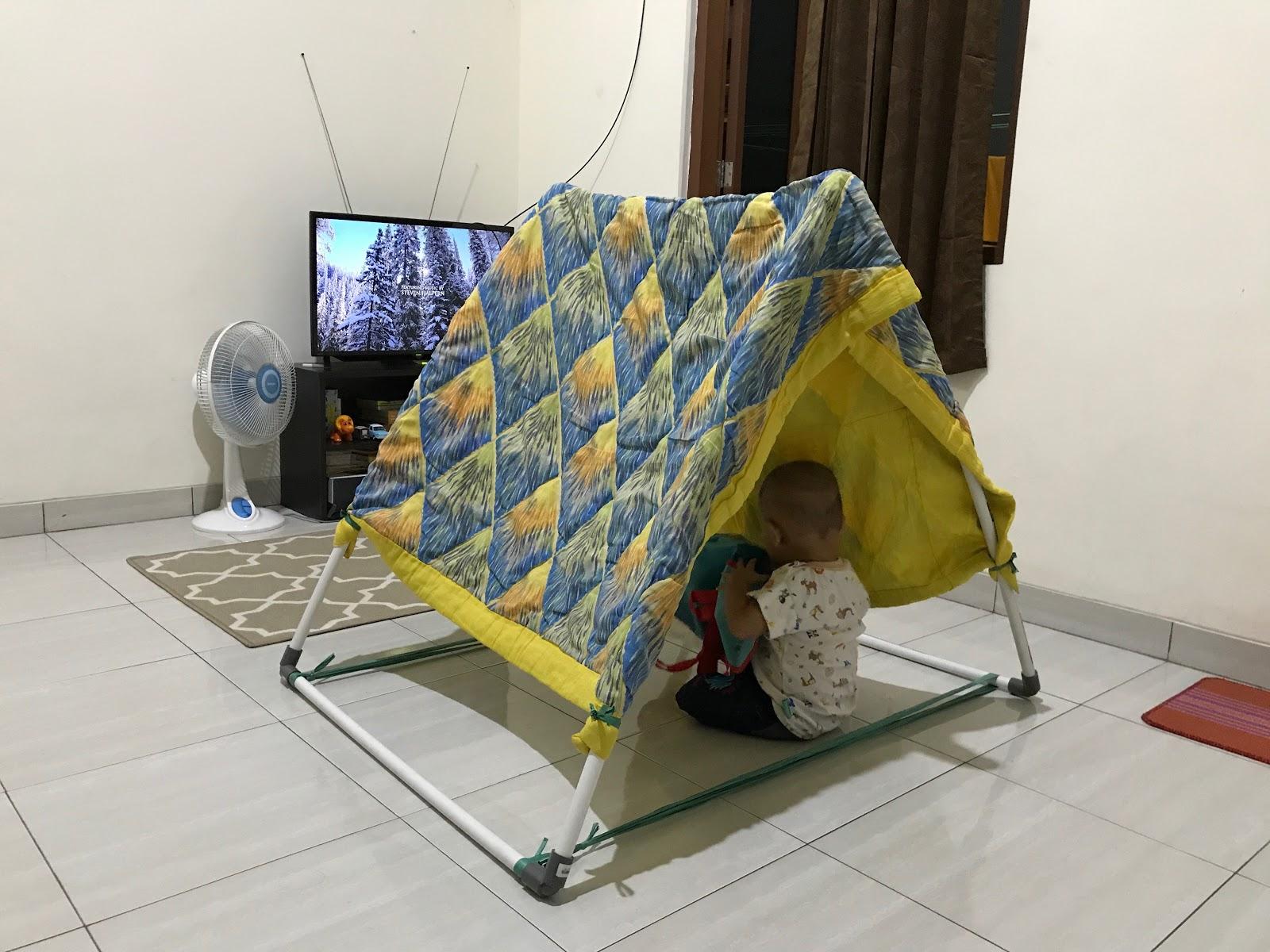 Tutorial Cara Membuat Tenda Anak Dari Paralon Ranafiu