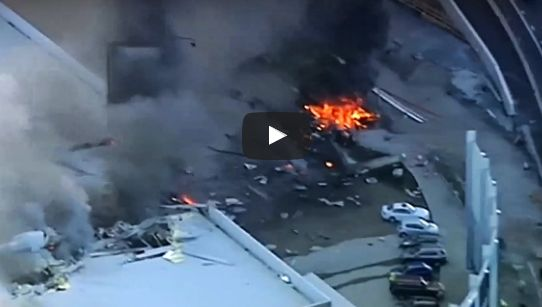 Plane Crashes Into Australian Shopping Mall, Five Dead