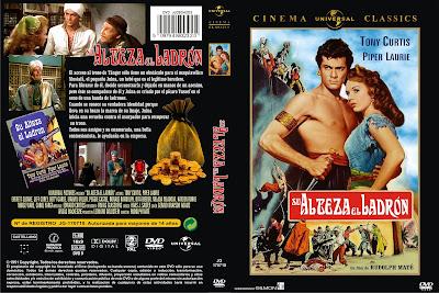 Cover, dvd, caratula: Su Alteza el ladrón | 1951 | The Prince who was a Thief