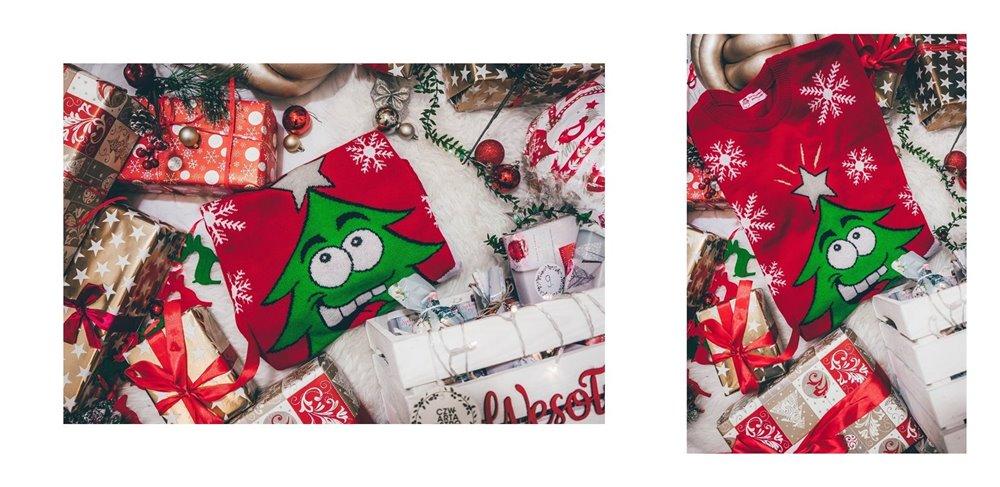 1 pomysł na świąteczny prezent swetry świąteczne pomysł na gwiazdkowy prezent dla niej dla siostry dla mamy gwiazdkowe inspiracje na prezent jaki kupić swiąteczne swetry blog porady pomysł