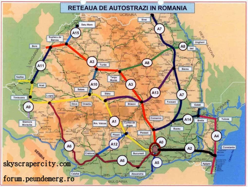 Filmari Aeriene Cu Drona Autostrazi Foto Si Video Romania 2019