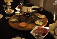 mesa de fondue