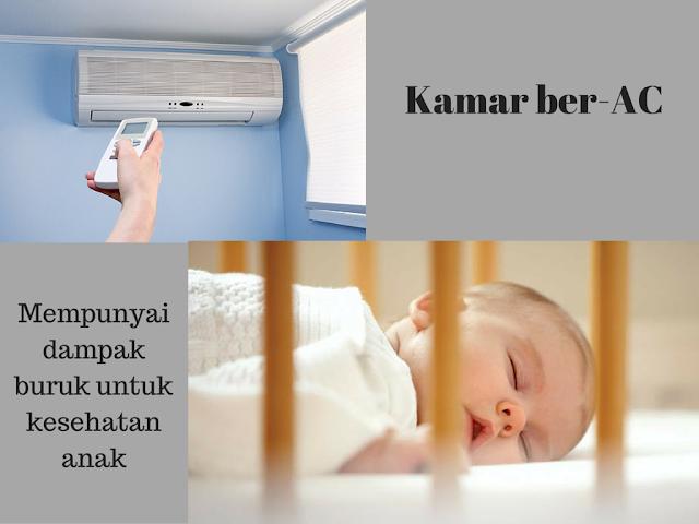 Ini Risikonya Anak Tidur di Kamar Ber-AC