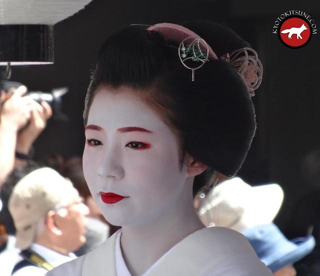 Geisha de Kyoto à la fête de Gion matsuri