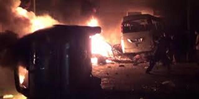 Kerusuhan Tanjung Balai Rusak Beberapa Rumah Ibadah dan Kendaraan Yang Dibakar Warga