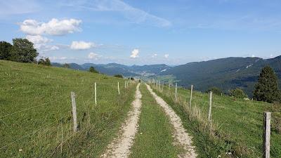 Vorderer Brandberg auf 1060 m