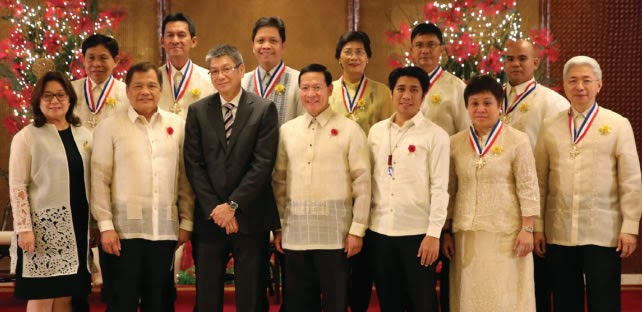 List of Presidential Lingkod Bayan Awardees 2014