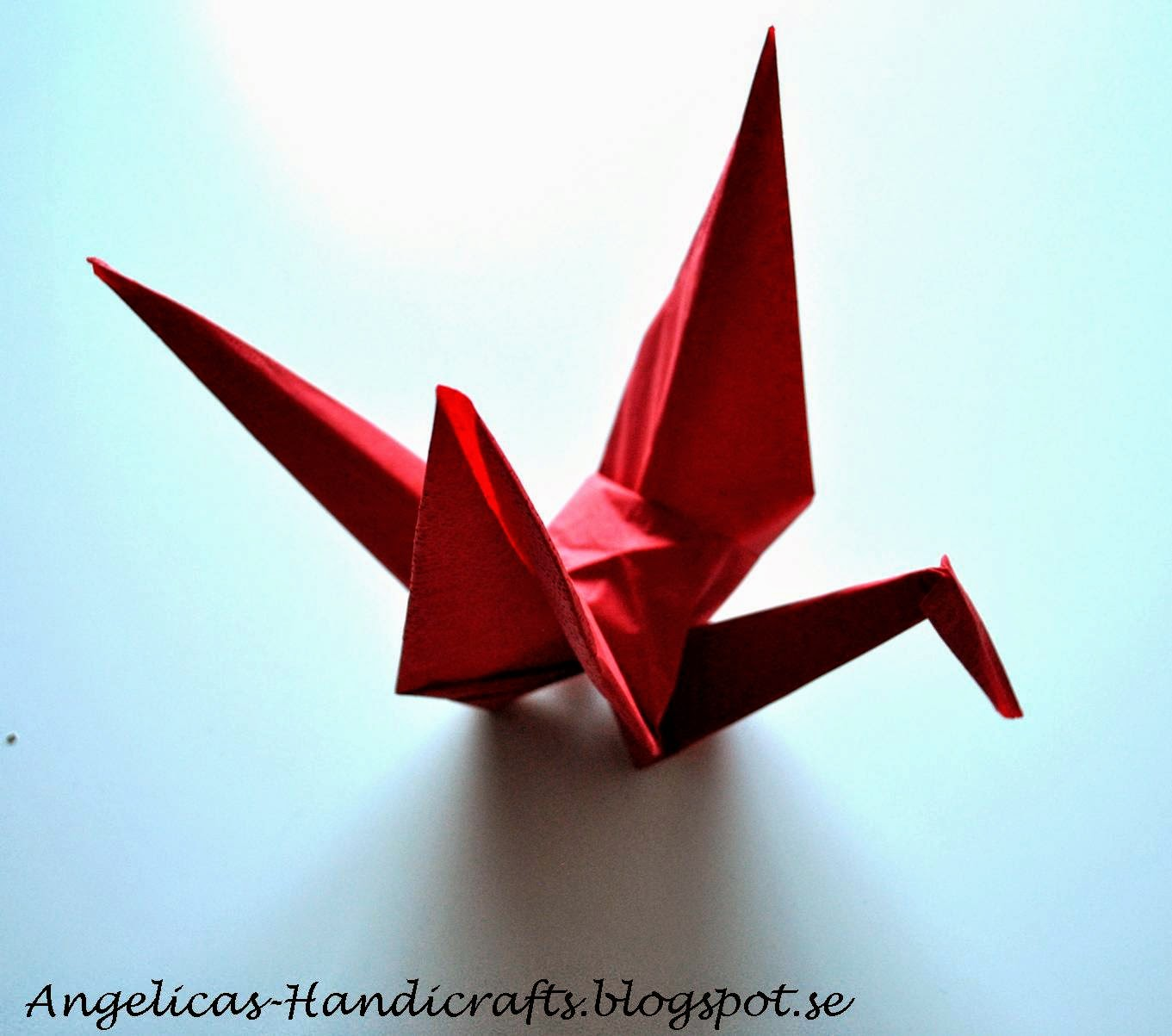 Origami Crane folding instructions | Origami crane tutorial ... | 1203x1361