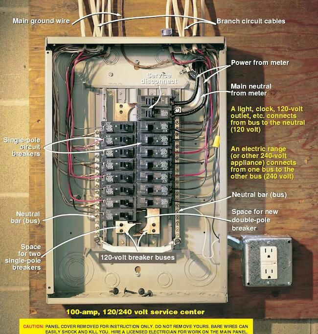Electrical And Electronics Engineering  Circuit Breaker Wiring