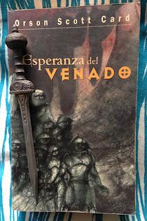 Portada del libro Esperanza del venado, de Orson Scott Card
