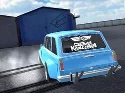 Rus Araç Kaydırma - Lada Russian Car Drift