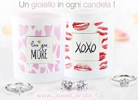 Logo Giveaway gratuito : vinci Gift Card da 50€ per la Festa della Donna con Jewel Candle