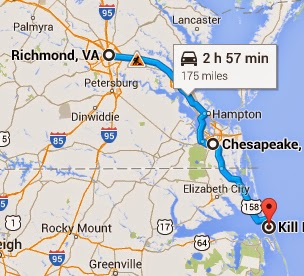 Richmond Traffic Map.How To Avoid The Traffic On Your Drive To The Outer Banks Updated