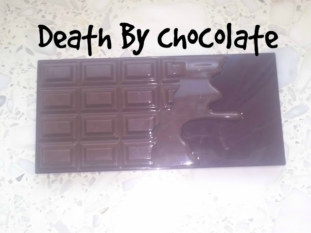 I Heart Makeup - Death By Chocolate - paleta cienii.