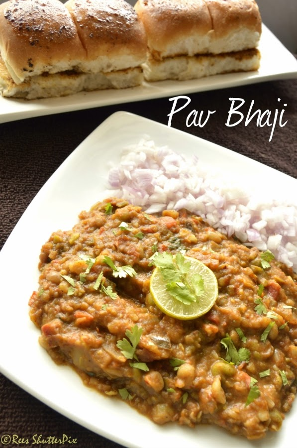 pav bhajji recipe to make at home, easy pav bhaji recipe