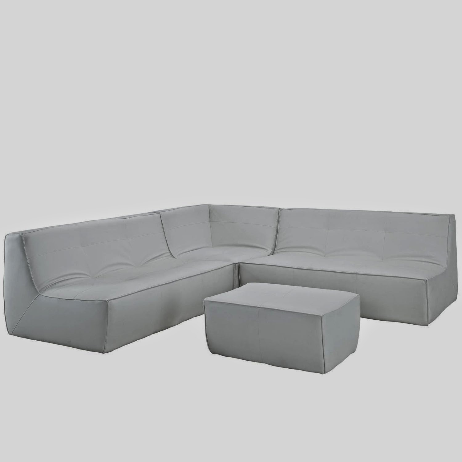 White Leather Couch Modern White Leather Couch