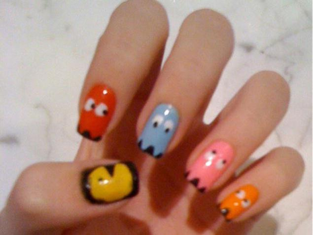 Easy Bow Nail Art Designs Furthermore Easy Nail Art Designs For Kids ...