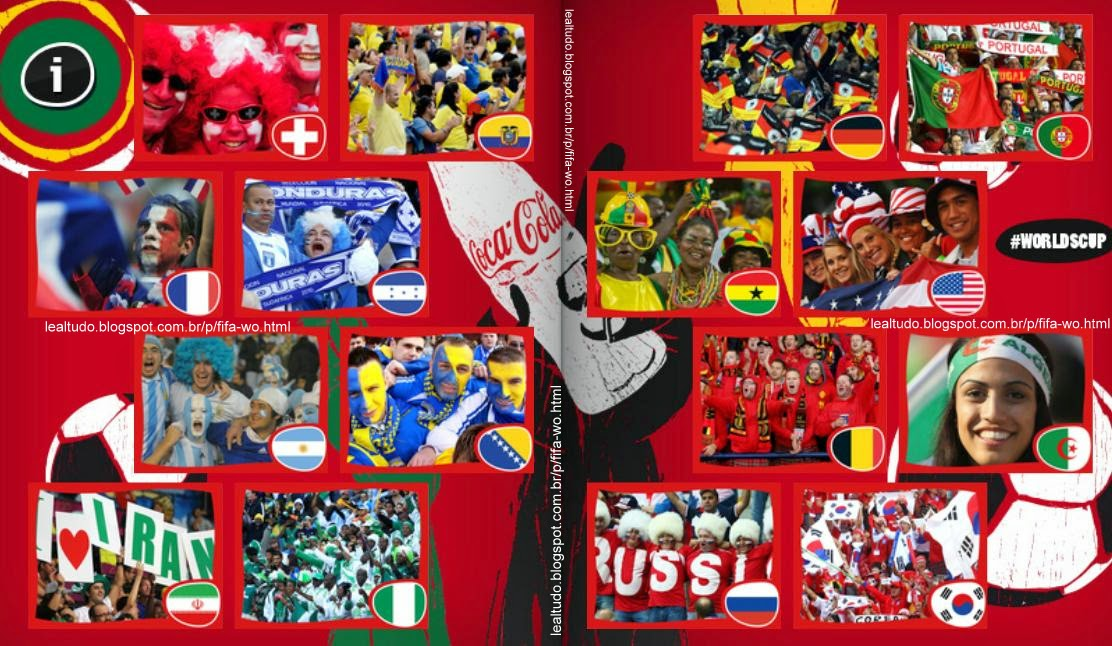 Album FAN - FÃ - 2 Fifa World Cup BRAZIL 2014 LIVE COPA DO MUNDO Sticker Figurinha Download Lealtudo