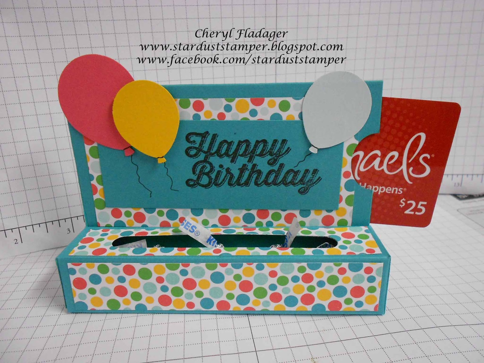 Cheryl star dust stamper birthday gift card box holderby cheryl i wanted to put together a video on how to create this adorable little gift card box but with me taking my preschool course and taking care of my wonderful kristyandbryce Images