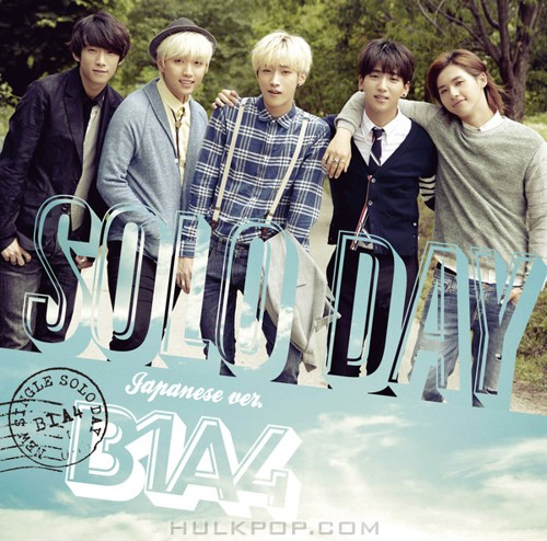 B1A4 – SOLO DAY-Japanese ver.-通常盤 (ITUNES PLUS AAC M4A)