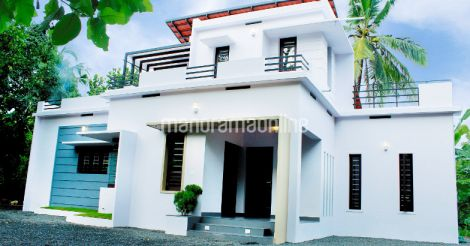 3 Bedroom Budget Kerala House for 15 Lakhs with 1600 Sqft Including Plan - Free Kerala Home Plans