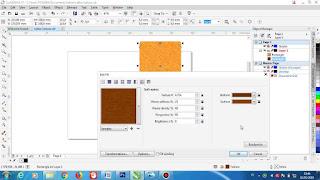 cara-membuat-tekstur-kayu-di-coreldraw