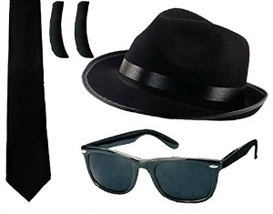 Blues Brothers Fancy Dress Kit