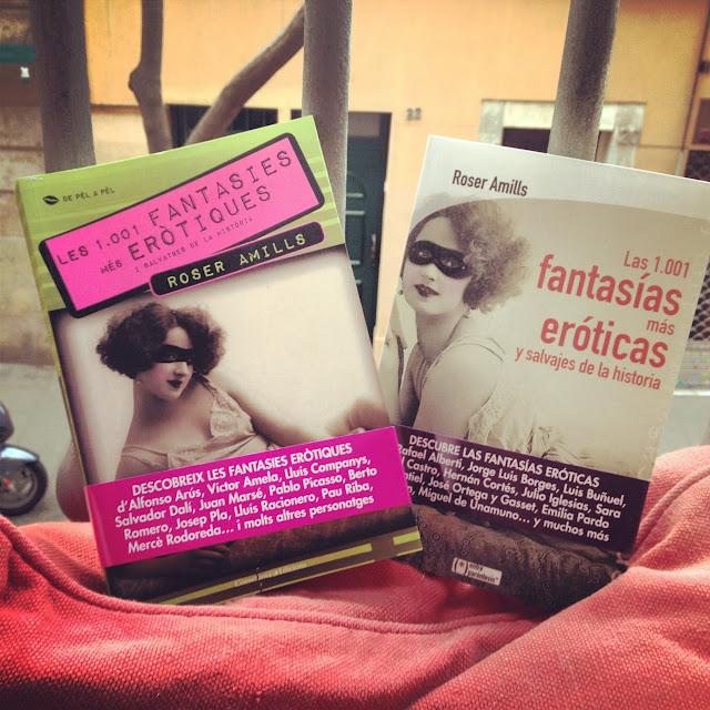 """""""Las 1.001 fantasías más eróticas y salvajes de la historia"""", Roser Amills (Cossetània 2012)"""