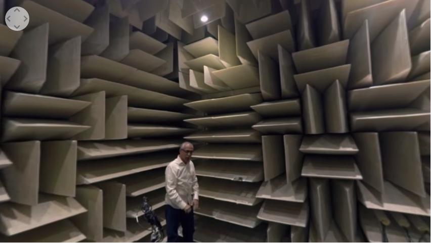 Video a 360° del luogo più silenzioso della Terra HTNovo