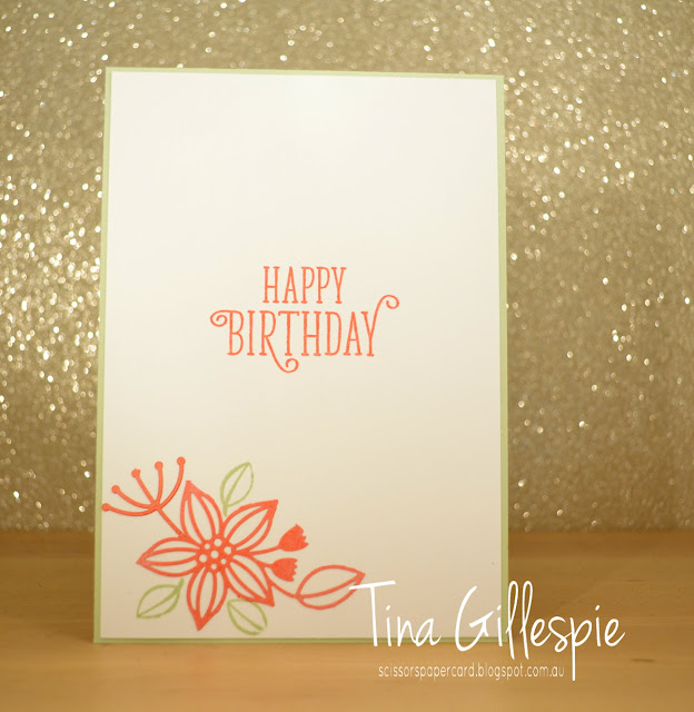 scissorspapercard, Stampin' Up!, Art With Heart, Colour Creations, Happy Birthday Gorgeous, Delightfully Detailed LCP, Subtle 3DTIEF