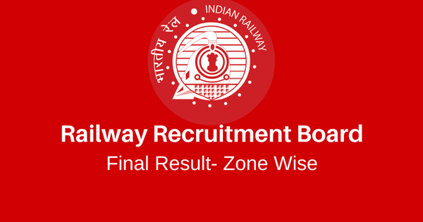 Download PDF RRB NTPC Final Result Zone Wise