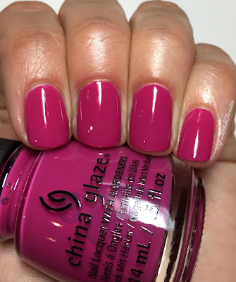 China Glaze House Of Colour, Spring 2016; In The Near Fuchsia
