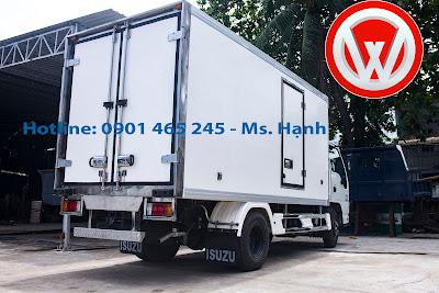 Xe tải đông lạnh Isuzu 1.9 tấn