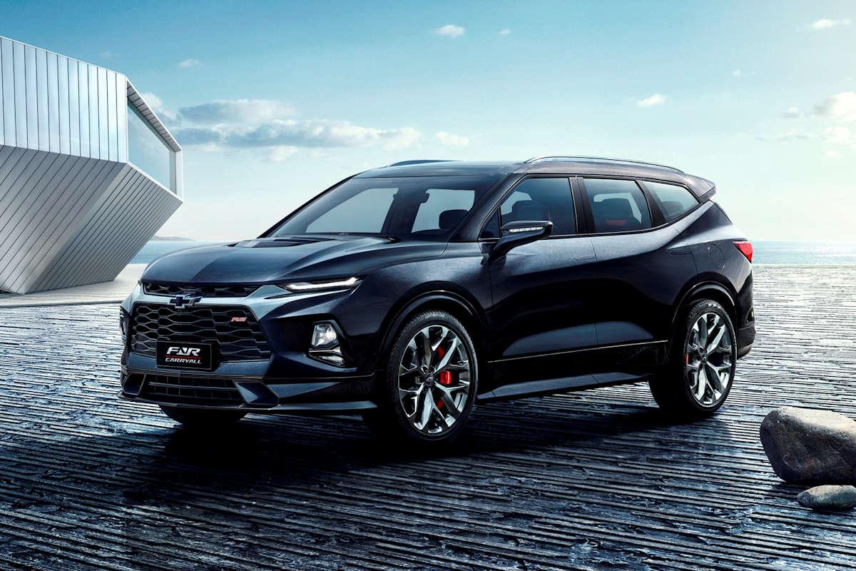 Chevrolet's FNR-CarryAll Concept Previews Future SUV ...