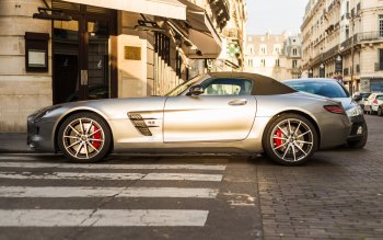 Wallpaper: Mercedes SLS Cabriolet