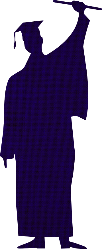 free digital congratulation scrapbooking embellishment Graduation Cap Clip Art free graduation silhouette clip art