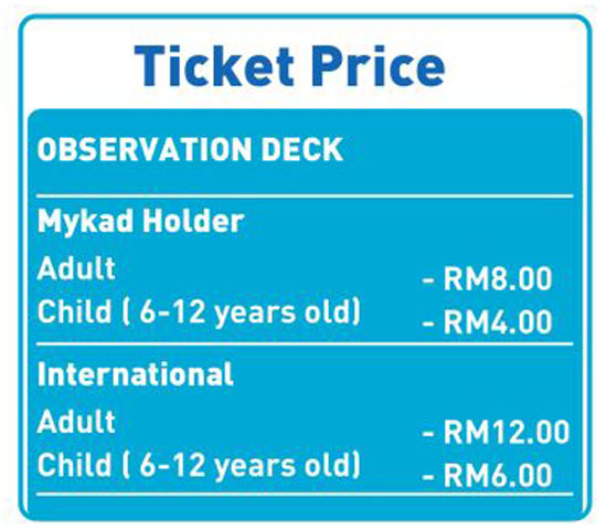 #VMY2014Alor Setar Tower Ticket Price