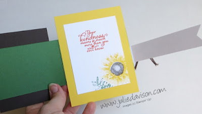 Stampin' Up! Painted Autumn Double Flap Card ~ 2017 Holiday Catalog ~ www.juliedavison.com