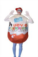 disfraz huevo kinder