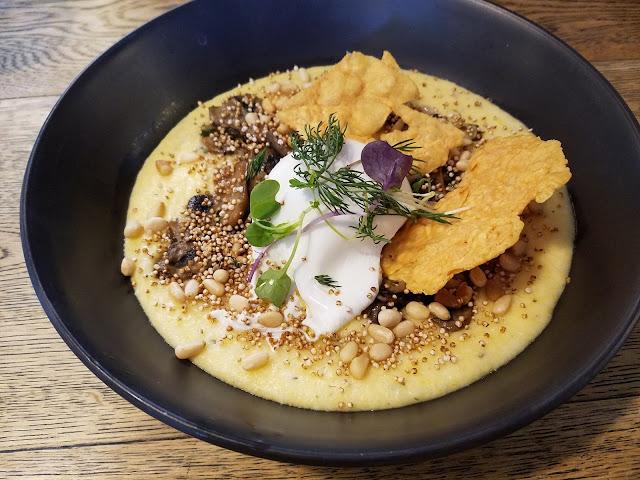 Rumour Mill, Croydon, mushroom ragu and polenta