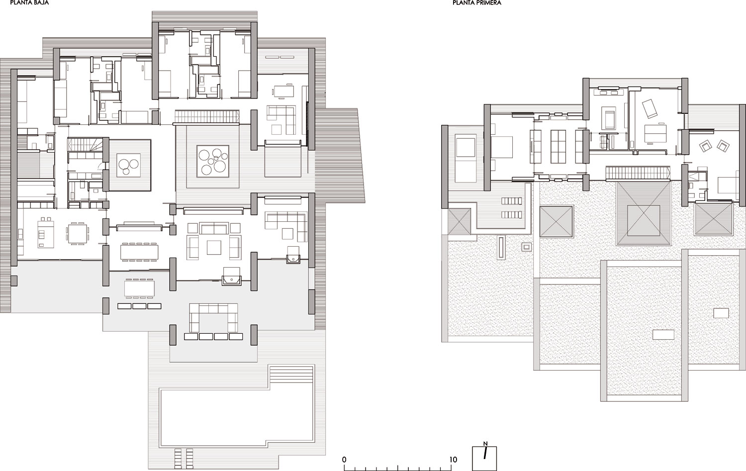 World of architecture modern architecture defining - Modern architectural designs floor plans ...
