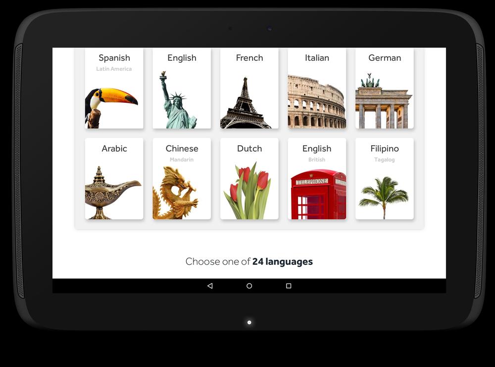 Resultado de imagen de Learn Languages: Rosetta Stone