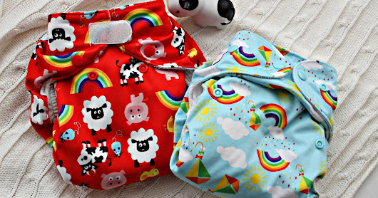 Wonderoos cloth nappy review: Real Easy and V3 Pocket nappy