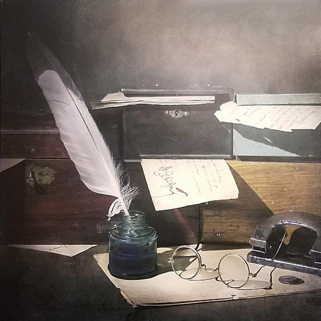 """межрегиональная выставка фотонатюрморта """"Весь мир - театр. Внимание на экспериментальную сцену!"""":  Олег Вязанкин (Самара) - Чернильная душа"""